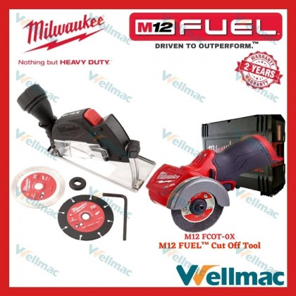 **MEGA COMBO SET** Milwaukee M12 FUEL™ [Installation Drill Driver(4 in 1) + SDS-Plus Rotary Hammer(2 Mode) + Cut Off Tool]