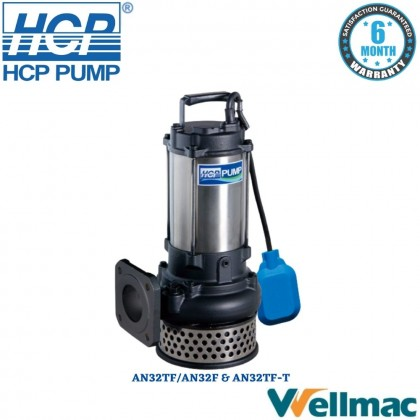 """HCP AN32 3"""" Submersible Wastewater Pump"""
