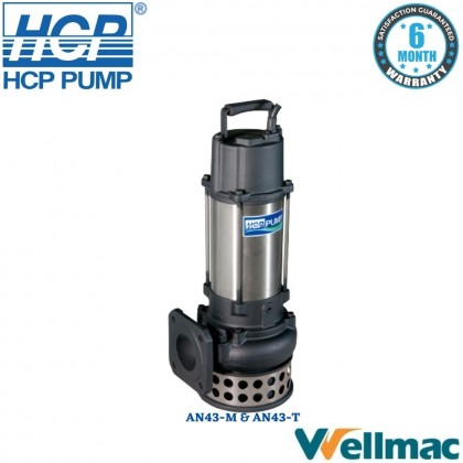"""HCP AN43 4"""" Dewatering Submersible Wastewater Pump"""